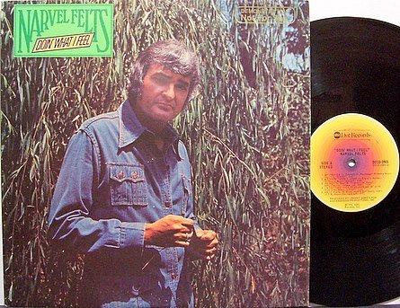 Felts, Narvel - Doin' What I Feel - Vinyl LP Record - Country