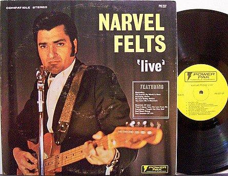 Felts, Narvel - Live - Vinyl LP Record - Country