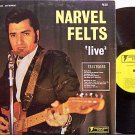Felts, Narvel - Live - Vinyl LP Record - Country