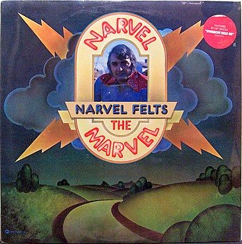 Felts, Narvel - Narvel The Marvel - Sealed Vinyl LP Record - Country
