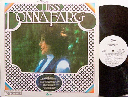 Fargo, Donna - Miss Donna Fargo - Vinyl LP Record - White Label Promo - Country