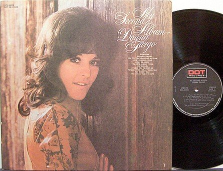 Fargo, Donna - My 2nd Album - Vinyl LP Record - Country