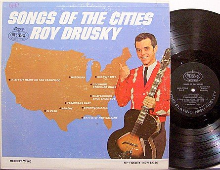 Drusky, Roy - Songs Of The Cities - Vinyl LP Record - Country