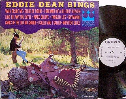 Dean, Eddie - Eddie Dean Sings - Vinyl LP Record - Country