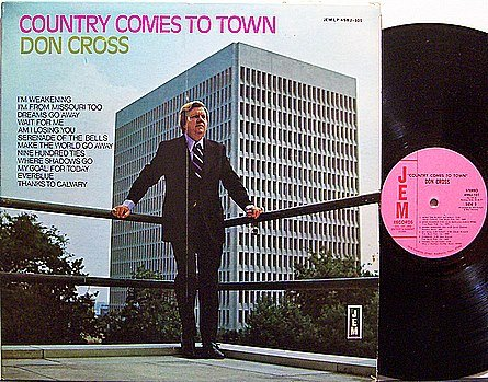 Cross, Don - Country Comes To Town - Vinyl LP Record
