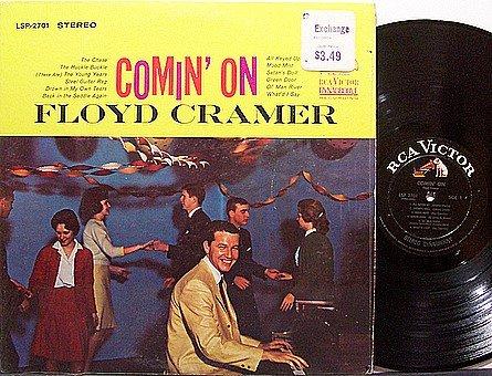 Cramer, Floyd - Comin' On - Vinyl LP Record - Country
