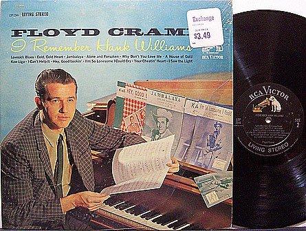 Cramer, Floyd - I Remember Hank Williams - Vinyl LP Record - Country