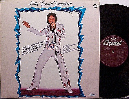 Craddock, Billy - Self Titled - Vinyl LP Record - Country