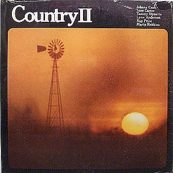 Country II - Sealed vinyl LP Record - Various Artists - Johnny Cash / June Carter etc - Country