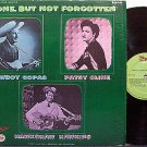 Copas, Cowboy / Patsy Cline / Hawkshaw Hawkins - Gone But Not Forgotten - Vinyl LP Record - Country