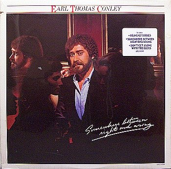 Conley, Earl Thomas - Somewhere Between Right And Wrong - Sealed Vinyl LP Record - Country
