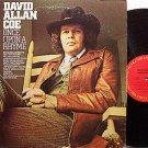 Coe, David Allan - Once Upon A Rhyme - Vinyl LP Record - Allen - Country