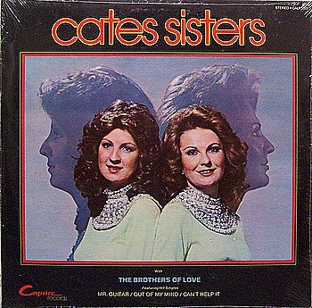 Cates Sisters - Self Titled - Sealed Vinyl LP Record -Country