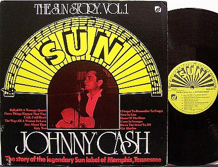 Cash, Johnny - The Sun Story Vol. 1 - Vinyl LP Record - Country