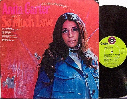 Carter, Anita - So Much Love - Vinyl LP Record - Country