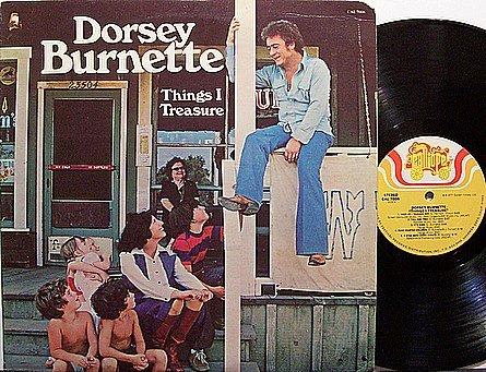 Burnette, Dorsey - Things I Treasure - Vinyl LP Record - Country