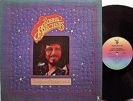 Borchers, Bobby - Denim And Rhinestones - Vinyl LP Record - Country