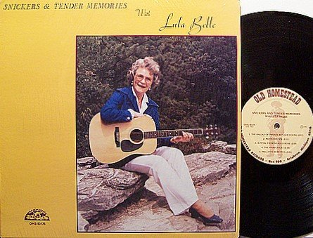 Belle, Lula - Sinckers & Tender Memories With Lula Belle - Vinyl LP Record - Country