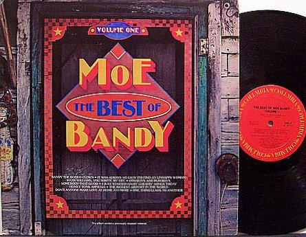 Bandy, Moe - The Best Of Moe Bandy Volume One - Vinyl LP Record - Country