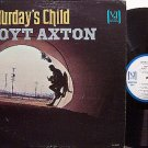 Axton, Hoyt - Saturday's Child - Vinyl LP Record - White Label Promo - Country