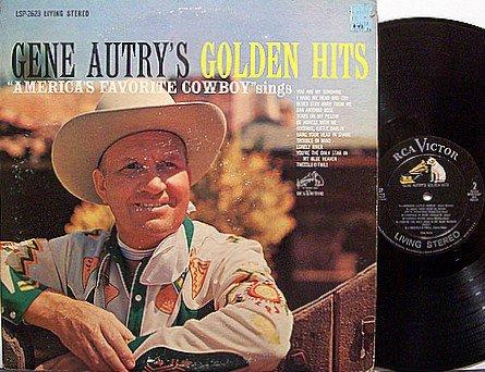 Autry, Gene - Gene Autry's Golden Hits - Vinyl LP Record - Country