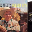 Autry, Gene - Gene Autry's Golden Hits - Vinyl LP Record - Country