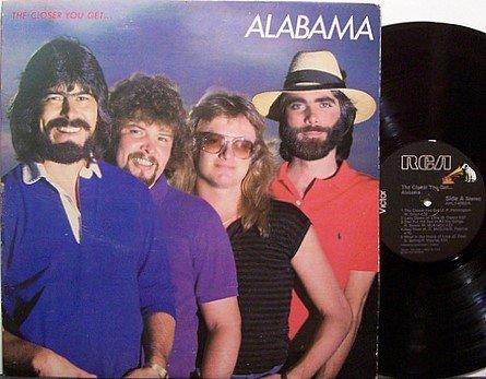 Alabama - The Closer You Get - Vinyl LP Record - Country