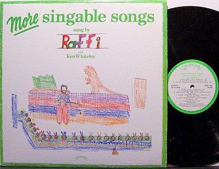Raffi - More Singable Songs - Vinyl LP Record - Children Kids