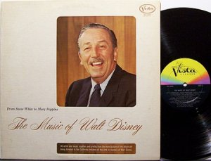Disney, Walt - The Music Of Walt Disney - Vinyl LP Record - Children Kids