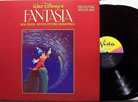 Disney, Walt - Fantasia New Digital Motion Picture Soundtrack - Vinyl 2 LP Record - Promo - OST