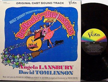 Disney Walt Bedknobs And Broomsticks Vinyl Lp Record