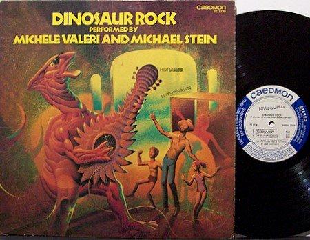 Dinosaur Rock - Michele Valeri And Michael Stein - Vinyl LP Record - Children Kids