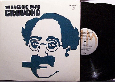 Marx, Groucho - An Evening With Groucho Marx - Vinyl 2 LP Record Set - Comedy