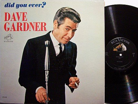 Gardner, Brother Dave - Did You Ever - Vinyl LP Record - Comedy