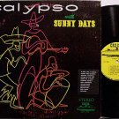 Sunny Days - Calypso With - Vinyl LP Record - Steel Drums World Music Trinidad Caribbean