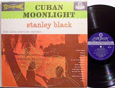 Black, Stanley - Cuban Moonlight - Vinyl LP Record - World Music Latin