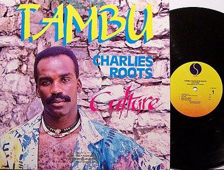 Charlie's Roots Culture - Tambu - Vinyl LP Record - Promo - Reggae