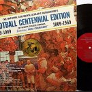 Football Centennial Edition - 20 Favorite College Marches - Vinyl LP Record - Sports