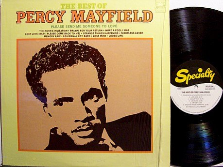 Mayfield, Percy - The Best Of Percy Mayfield - Vinyl LP Record - Blues