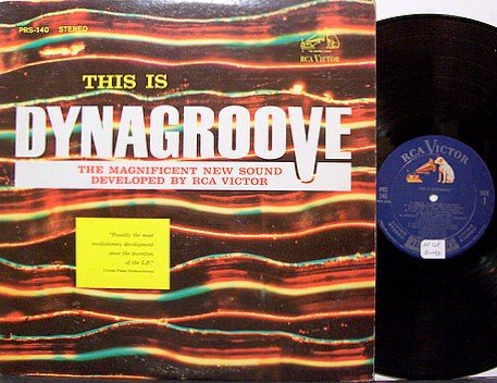 This Is Dynagroove - RCA Victor 1963 Sampler Album - Vinyl LP Record - Odd Unusual Weird