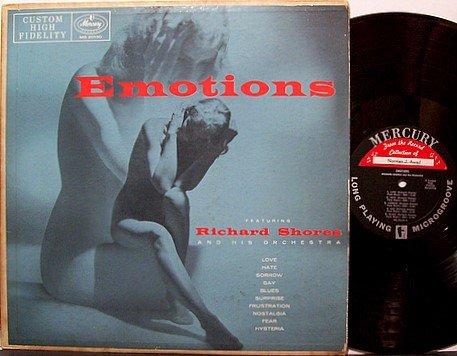 Shores, Richard - Emotions - Vinyl LP Record - Mono - Cheesecake Sexy Odd Unusual Weird