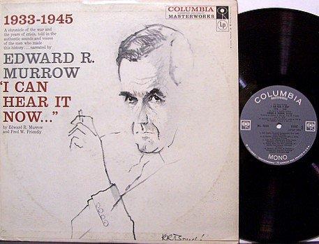Murrow, Edward R. - I Can Hear It Now - Vinyl LP Record - Odd Unusual Weird