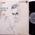 Murrow, Edward R. - I Can Hear It Now - Vinyl LP Record - Odd Unusual Weird