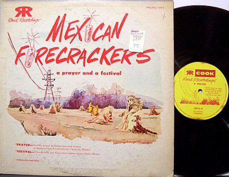 Mexican Firecrackers / Fertility Prayer - Purple Colored Vinyl - LP Record - Odd Unusual Weird