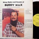 Max, Buddy - The Singing Roller Skating Cowboy - Vinyl LP Record - Country Flea Market Singer Weird