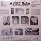 Max, Buddy - Little Circle B - Sealed Vinyl LP Record - Country Flea Market Singer Weird