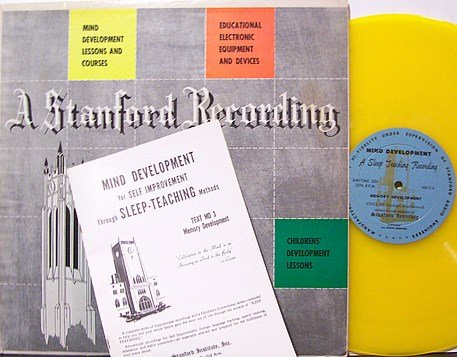 MacCormack, Franklyn - Stanford University Sleep Teaching - Colored Vinyl - LP Record - Odd Weird