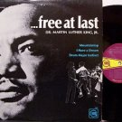 King, Martin Luther Jr. - Free At Last - Vinyl LP Record - MLK - Spoken Word