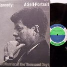 Kennedy, John F. - A Self Portrait - Vinyl 2 LP Record Set - JFK - Spoken Word