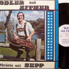 Diepolder, Josef Sepp - Jodler And Zither - Signed Vinyl LP Record - German Yodeler Weird
